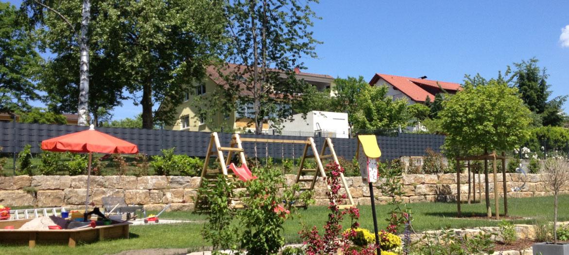 Zaun – Steinzaun – Sichtschutzstreifen kaufen – Ihren Zaun online kaufen