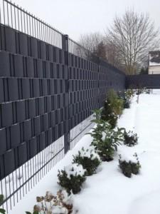 Sichtschutzzaun Kunststoff Gunstig Kaufen Zaun Steinzaun
