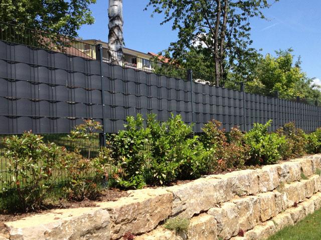 Häufig zaun sichtschutz folie – Zaun – Steinzaun – Sichtschutzstreifen kaufen TL01
